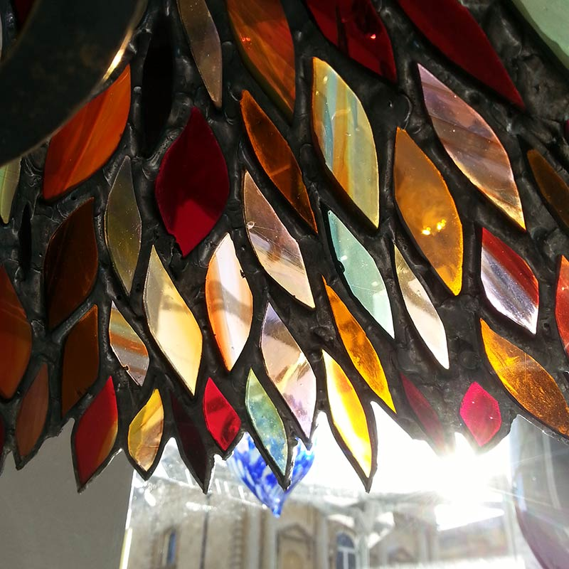 Stained glass lamp shades patterns glass designs stained glass lamp shade patterns light database ideas aloadofball Images