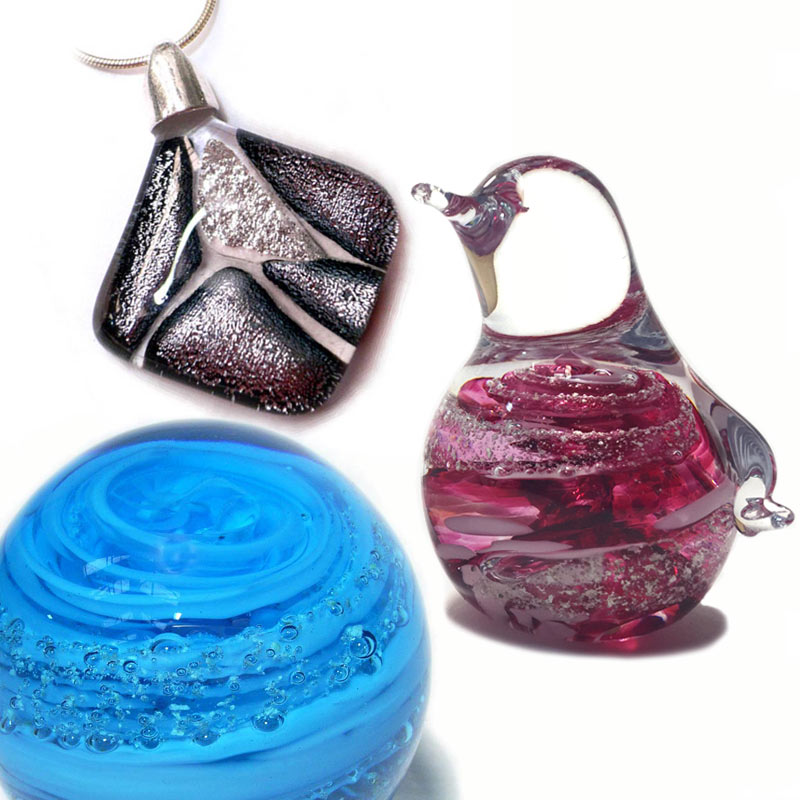 All Cremation Ashes Glass Products