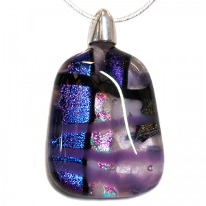 Purple Aura Pendants