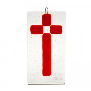 Medium Cross Fused Hanging