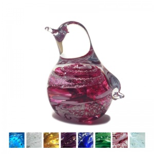 Cremation Ashes Glass - Ashes Glass Penguin