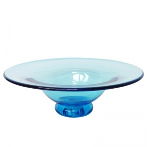 Glass Pad Foot Centre Dish