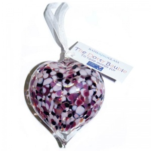 Dotty Heart Bauble - Charity Bauble in Aid of Dorothy House