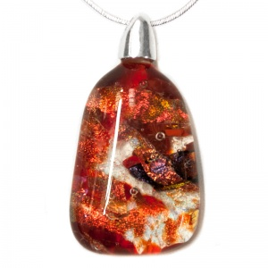 Red Aura Pendants