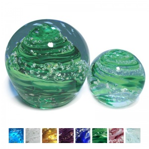Ashes Glass Paperweight