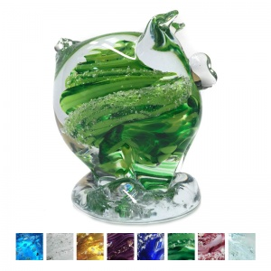 Cremation Ashes Glass - Ashes Glass Piglet