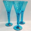 Seconds Quality - Jane Austen Georgian Glass  Air twist Stem Goblet