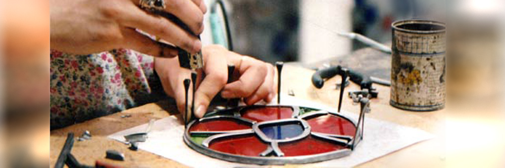 Stained Glass Courses at Bath Aqua Glass City Centre Shop Next to Bath Abbey