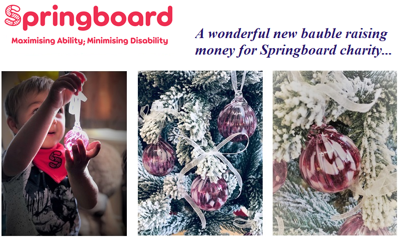 Springboard Charity Bauble