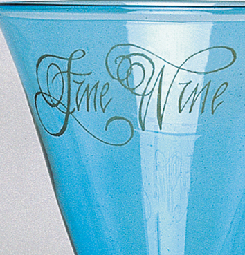 Gold Engraved Airtwist Stemware Ideal Corporate Gifts