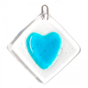 Small Fused Heart Hanging