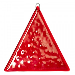 Feng Shui Red Triangle Hanging