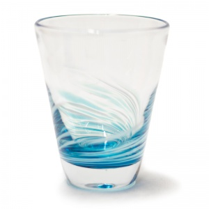 Swirled Colour Glass Tumblers