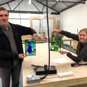 Stained Glass Course Voucher 2 to 1 Tuition