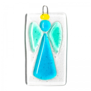 Wishing Angel Fused Hanging