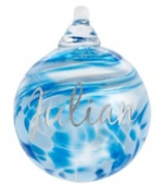 Personalised Engraved Mini bauble