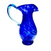 Medium Cobalt Art Glass Jug