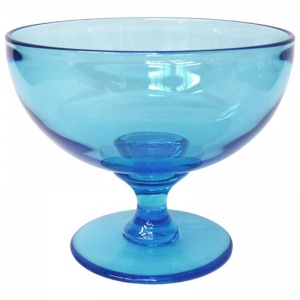 Footed Glass Bowl