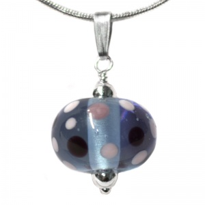 Dotty Bead Pendant - Charity Bead in aid of Dorothy House