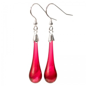 Plain Molten Drop Earrings