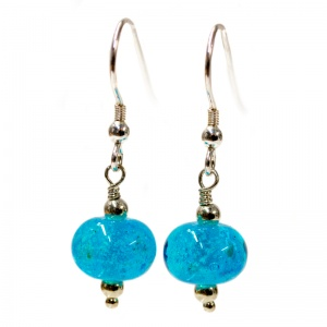 Ashes Into Jewellery - Charm Bead Earrings