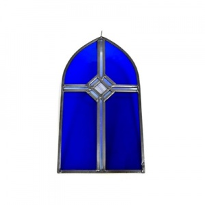Stained Glass Church Window Hanging