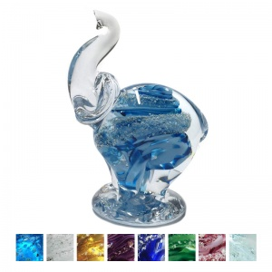 Cremation Ashes Glass - Ashes Glass Elephant