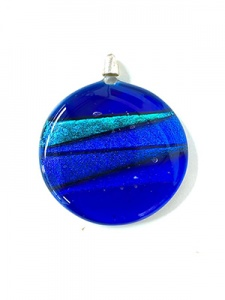 Large Circular Glass Pendant