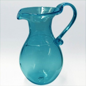 Seconds Quality - Trailed Glass Roman Jug - MEDIUM
