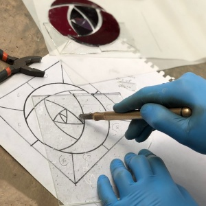 6 Week Stained Glass Sun-catcher Making Course: July 5 - Aug 9