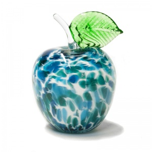 Large Decorative Glass Apple